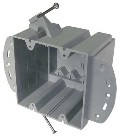 Electrical Box, 2 Gang, 48 cu. in., PVC