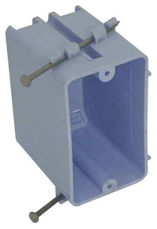 Electrical Box, 1 Gang, 20 cu. in., PVC