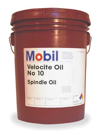 Mobil Velocite 10,  Spindle Oil,  5 gal.