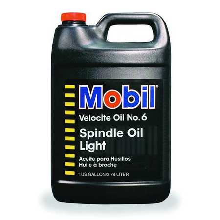 Mobil Velocite 6,  Spindle Oil,  1 gal.