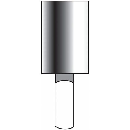 Vitrified Mounted Point, 1/8 x1/2in, 60G