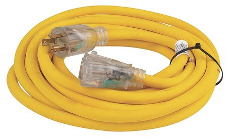 25 ft. 10/3 3-Outlet Extension Cord SJTOW