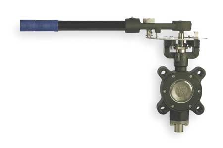 Butterfly Valve, Lug, 3 In, RPTFE Liner