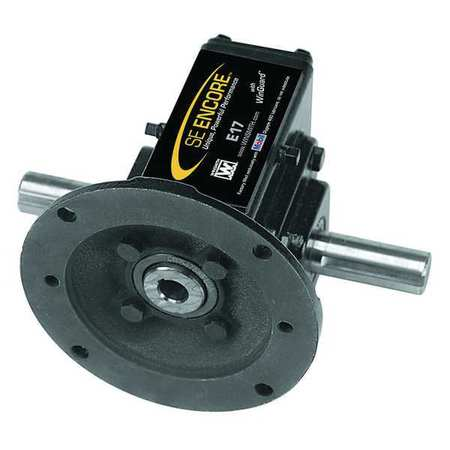 Speed Reducer, C-Face, 56C/140TC, 60:1