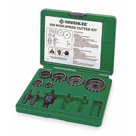 Hole Cutter Kit, 9 PC