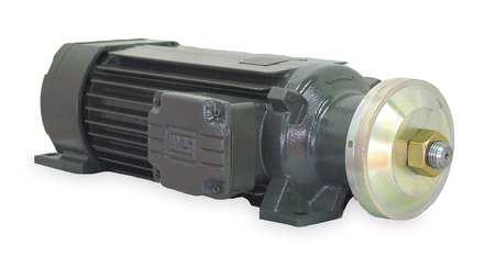 Arbor Motor, 3 HP, 3500 RPM, 208-230/460V