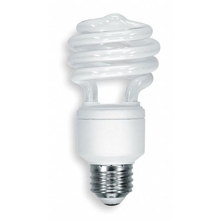 GE LIGHTING 20W,  T2 Screw-In Fluorescent Light Bulb