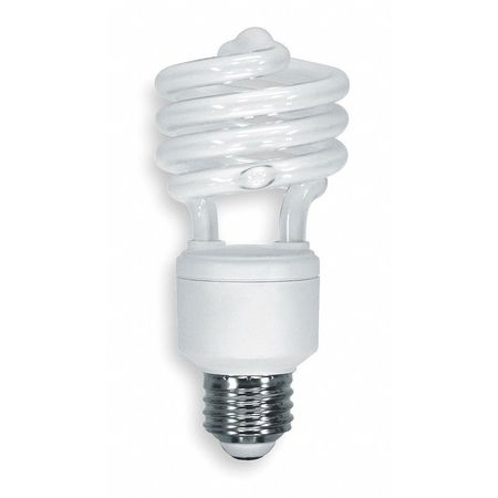 GE LIGHTING 23W,  T2 Screw-In Fluorescent Light Bulb