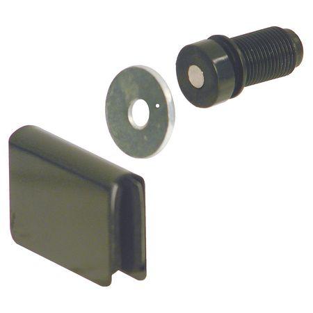 Glass Door Magnetic Catch, Push-to-Open