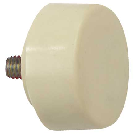 Hammer Tip, Med Hard, 1 1/2 In, Cream