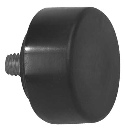 Hammer Tip, Hard, 1 1/2 In, Black