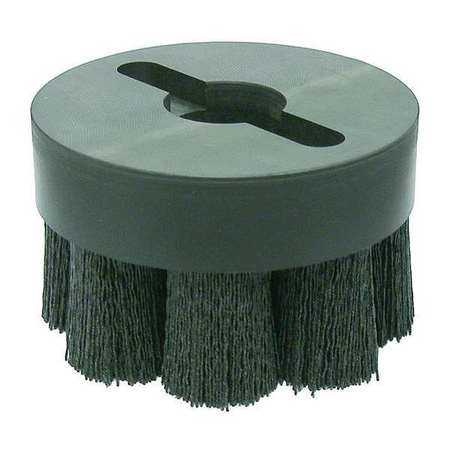 "Shell Mill Wire Brush,  4"" Dia,  Wire 0.055"""