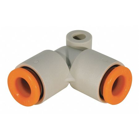 "90 Elbow Union, 5/32"", Tube, Polybutylene"