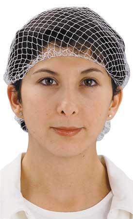 Hairnet, White, Universal, PK144