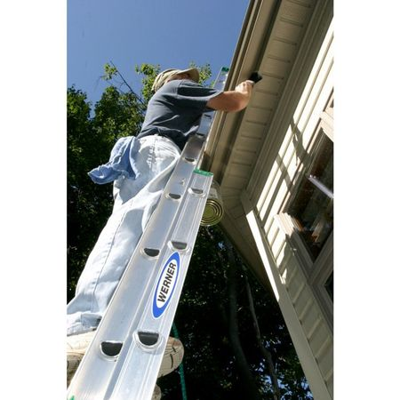 Werner Extension Ladder Aluminum 24 Ft Ii D1224 2