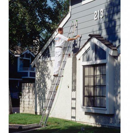 Werner Extension Ladder Aluminum 24 Ft Ii D1224 2