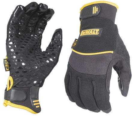 Mechanics Gloves, Black, S, PR