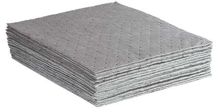 Absorbent Pads, 26.7 gal., 18 In. L, PK100