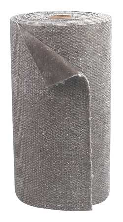 Absorbent Roll, Gray, 33-2/7gal, 30Inx150ft