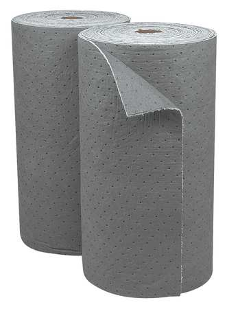 Absorbent Roll, Gray, 46-4/5gal, 30Inx150ft