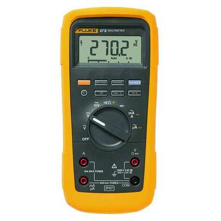 Digital Multimeter, 1000V, 10A, 50 MOhms