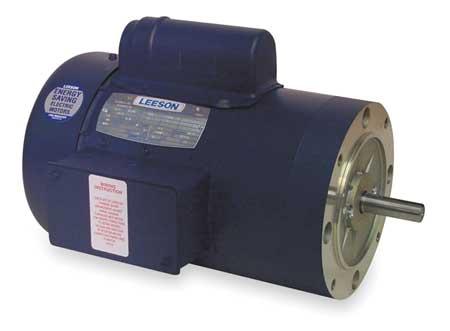 50 Hz Motor, 1 1/2 HP, 2850, 110/220 V, 56C