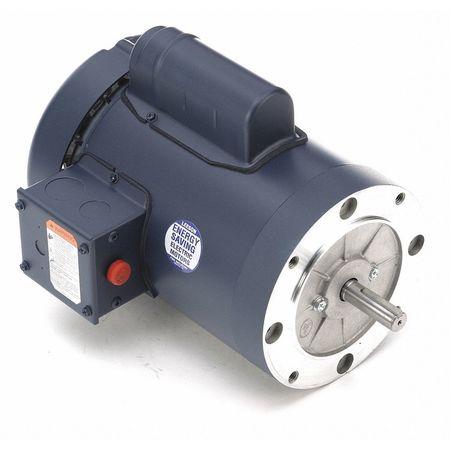50 Hz Motor, 1 HP, 1425, 110/220 V, 56C, TEFC