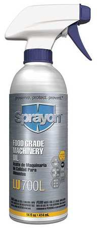 Food Grade Machine Oil, 14 oz.