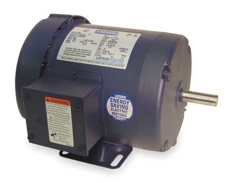 50 Hz Mtr, 3-Ph, 1 HP, 2850, 220/380-440v, 56