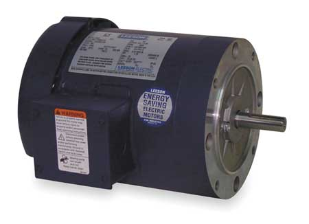 50 Hz Mtr, 3-Ph, 1/2hp, 950, 220/380-440, 56C