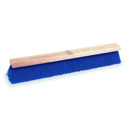 TOUGH GUY Blue Polypropylene Coarse Sweeping Push Broom