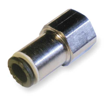 Female Connector, Tube 10mm, Pipe 3/8, PK10