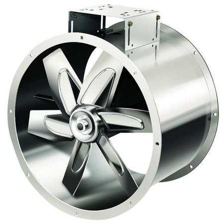 """24"""" Tubeaxial Fan w/ Motor & Drive Pkg,  208-230/460VAC"""