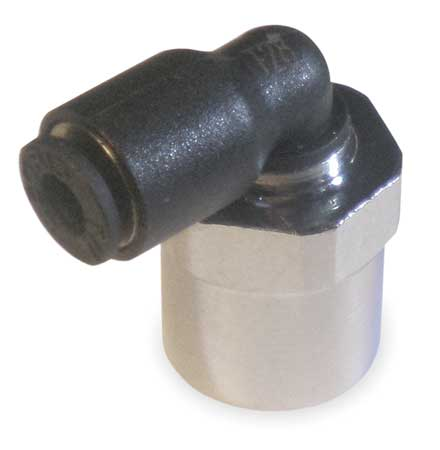 90 Elbow, Tube 3/16In., Pipe 1/8 In., PK10