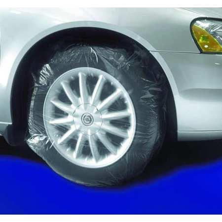 Tire Masker, Paintable, Plstic, PK50