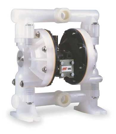 "1"" Polypropylene Air Double Diaphragm Pump 47 GPM 150F"