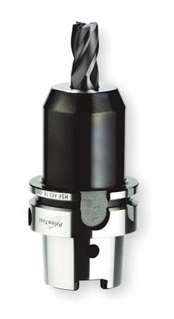 End Mill Holder, HSKA63, 20mm Bore Dia.