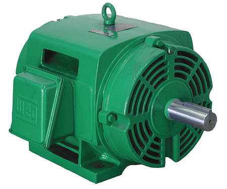Motor, 3 Ph, 15 HP, 1775, 575V, 254T, Eff 93.0