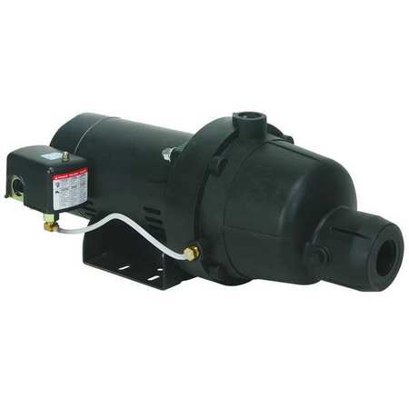 Shallow Well Jet Pump,  Plastic,  1/2 HP