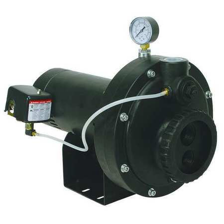Convertible Jet Pump,  Plastic,  1/2 HP