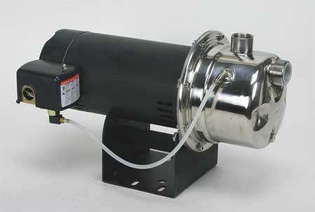 Shallow Well Jet Pump,  SS,  1/2 HP