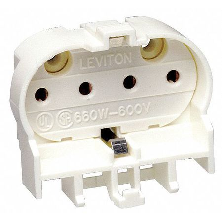 Lamp Holder, Long Twin Tube, 660W, 600V
