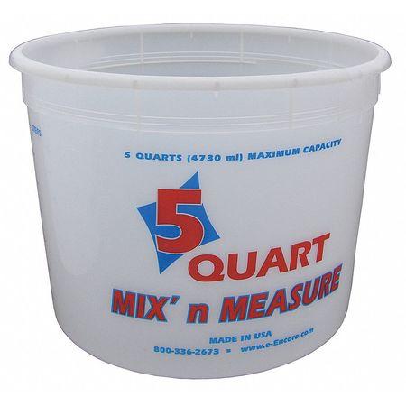 Paint Mix And Measure Cont., 5 qt, Plastic