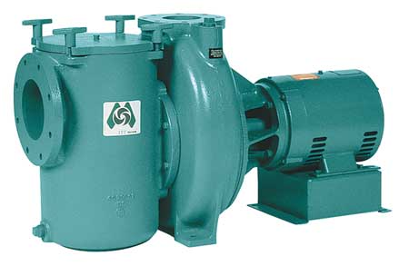 Pool Pump,  20 HP,  3 Ph,  200-230/460V