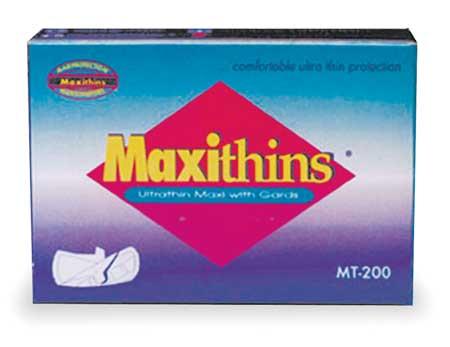 Sanitary Napkin, 4-1/4 In. L, PK200