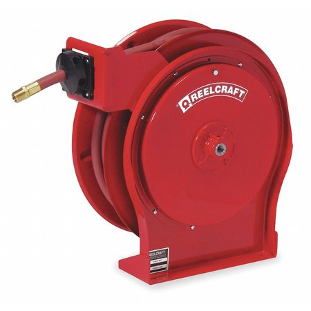 "1/2"" x 25 ft. Spring Return Hose Reel with Hose 300 psi"