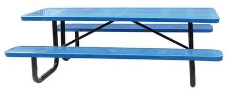 Zoro Select Picnic Table W X D Blue HUW Zorocom - 96 picnic table