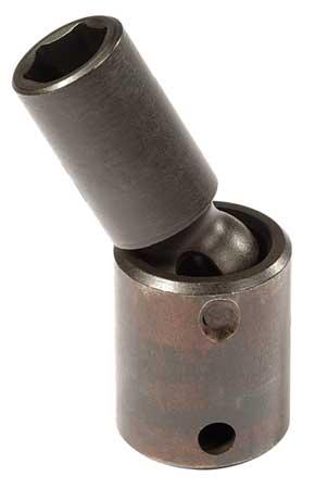 Flex Impact Socket, 3/8 In Dr, 16mm, 6 pt