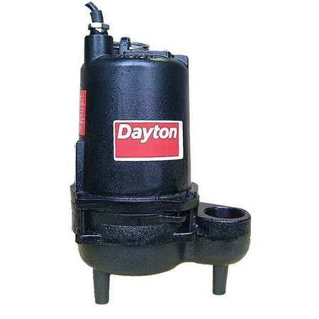 "4/10 HP 2"" Manual Submersible Sewage Pump 115V"