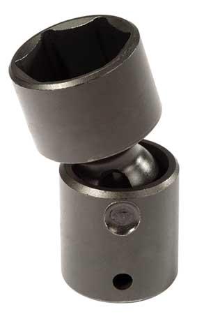 Flex Impact Socket, 1/2 In Dr, 1-1/8In, 6pt